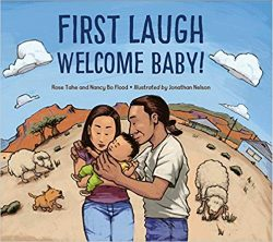 First laugh – Welcome Baby!