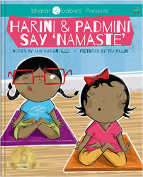 Harini & Padmini say namaste